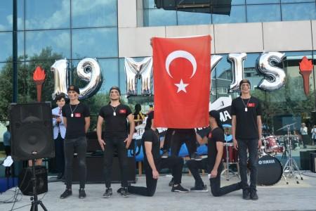 19 Mayıs Atatürk'ü anma Gençlik ve Spor Bayramını kutladık