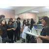 12.sınıf öğrencilerimiz Ege Üniversitesinde Genetik Laboratuvarlarını ziyaret etti